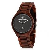 GREENTREEN Unisex Holz Armbanduhr mit Kalender Funktion