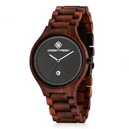armbanduhren aus holz die sch nsten damen und herren holzuhren. Black Bedroom Furniture Sets. Home Design Ideas
