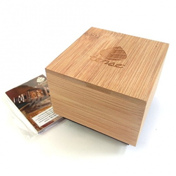 TENSE Holzuhr Womens Pacific Premium Sandelholz verpackung