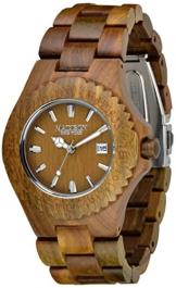 Madison Unisex Armbanduhr Holzuhr