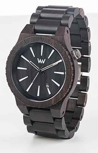 WeWood Assunt Black Armbanduhr Herren-Holzuhr