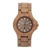 wewood damen analog armbanduhr mit holz armband