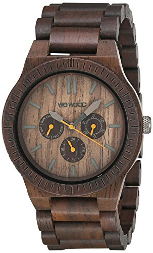 wewood kappa chocolate multifunktionsuhr