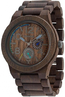 wewood kardo chocolate holz herrenuhr